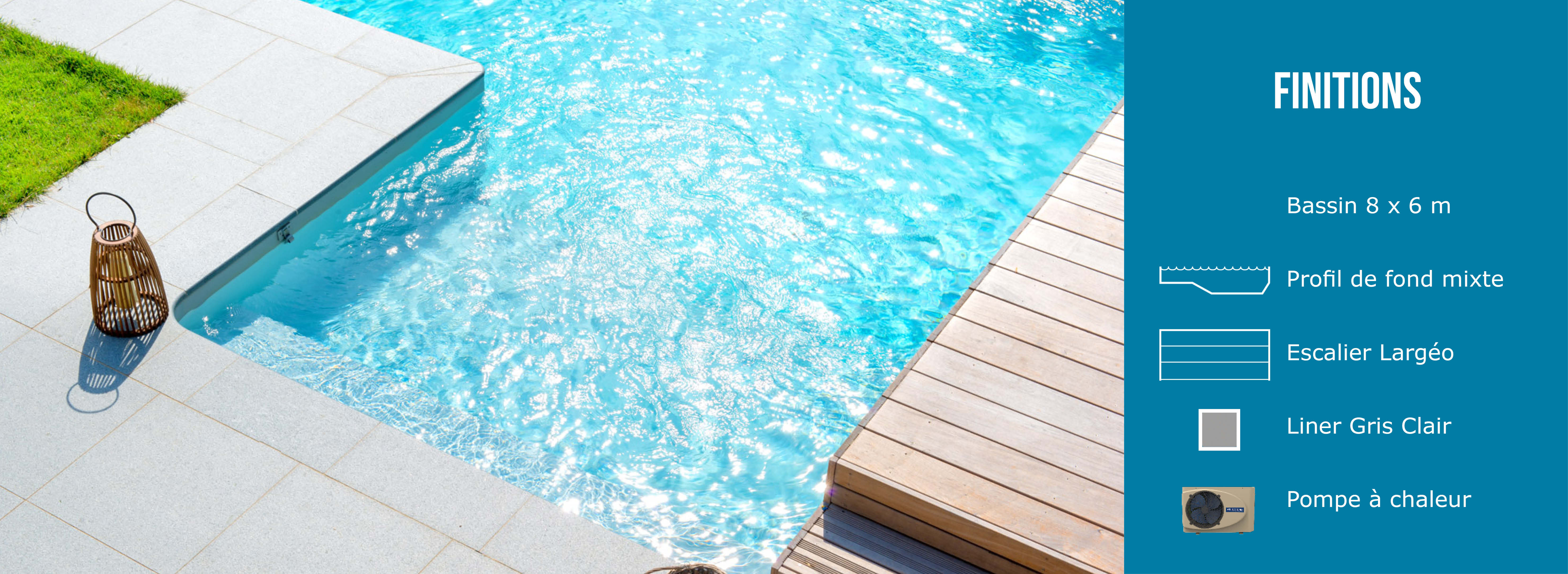 Finitions piscine Maldives - Aquilus Valence