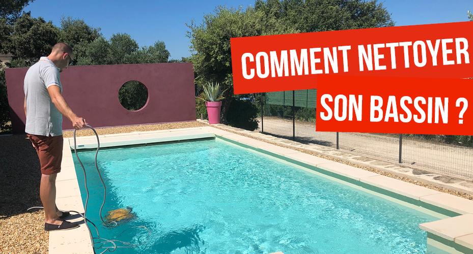 conseil comment nettoyer le bassin de sa piscine aquilus valence. Black Bedroom Furniture Sets. Home Design Ideas