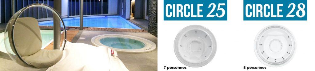 Découvrez nos spas Aquilus à débordement, esthétiques et pratiques, idéal pour un usage professionnel.