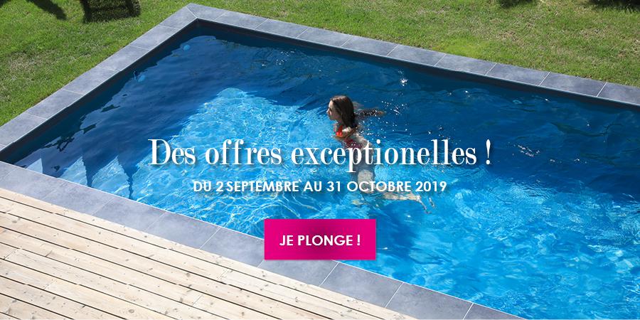 Profitez des derniers jours pour bénéficier des nos offres Aquifolies :piscine, spa...