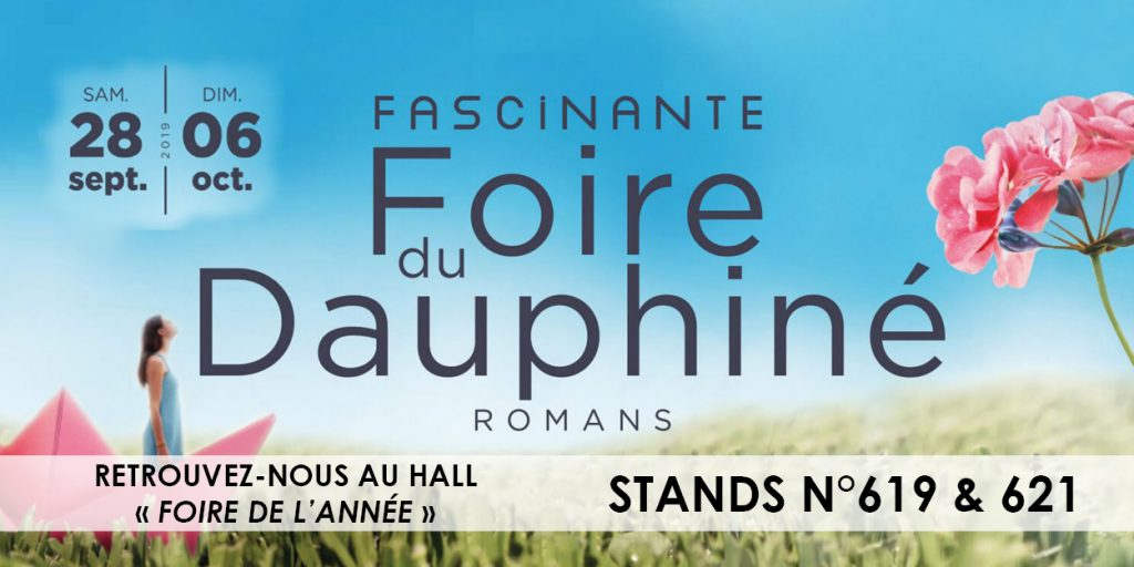 Foire du Dauphiné - Aquilus Valence (26) -2019 - stand -aquilus