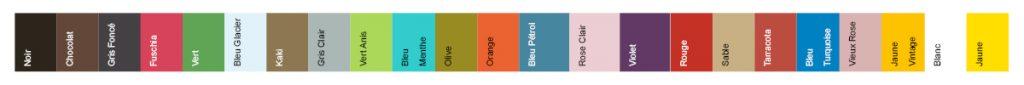 Personnalisez votre SitOnIt avec les 23 coloris disponibles.